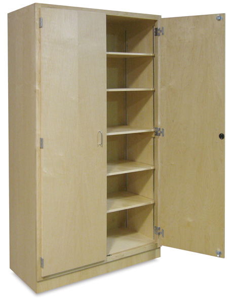 Hann Hardwood Storage Cabinet - BLICK art materials