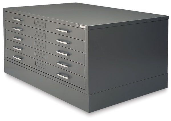Flat File with Flush Base (Flush Base sold separately)