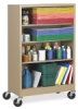 Atlantic Metal Mobile Bookcase