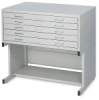 Flat File on High Open Base (Small)