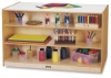 Jonti-Craft Mobile Storage Island with Trays