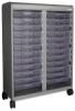 Smith System Cascade Mega-Tower Tote Tray Storage Unit