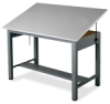 Mayline Economy Ranger Steel Four-Post Drawing Tables