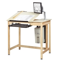 Diversified Woodcrafts Shop-Bilt Drawing/CAD Tables