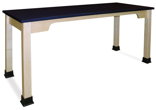 Plastic Top Table, Hard Maple