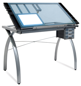 Futura Craft Station with Artograph LED LightPad <br>(LightPad not Included)