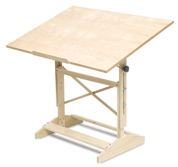Professional Drafting Table - Wood Drafting Table - BLICK Art Materials