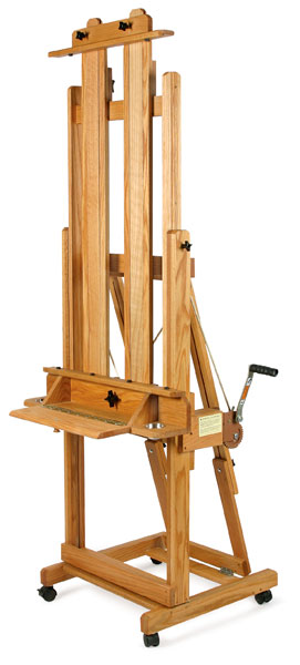 best elegant h frame easel blick art materials