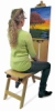 Martin Universal Design Wood Mobile Bench Easel