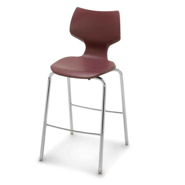 Flavors Chair, Burgundy