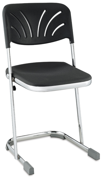 "Elephant Z-Stool with Backrest, 18""H"