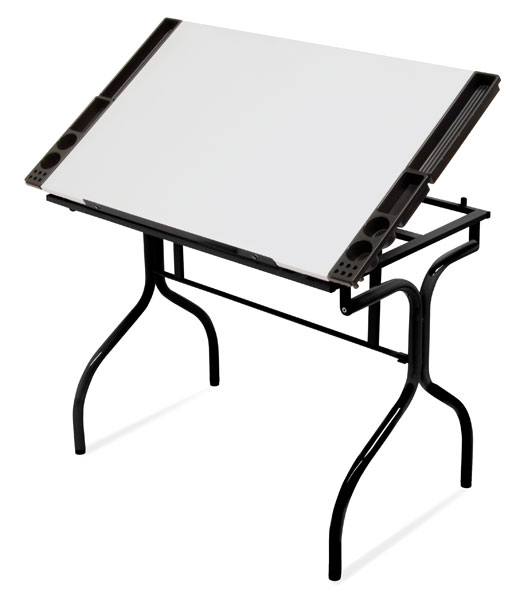 Black/White Top Folding Craft Station