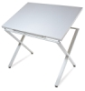 X-Factor Drawing & Hobby Table, White