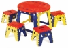 Martin Universal Design Legacy Easy Folding Kids Table Set