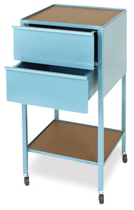 2-Drawer Taboret, Vertical