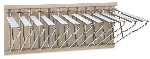 Pivot Wall Rack (Clamps Not Included)