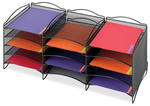 Compartment Paper Organizer (Files Not Included)