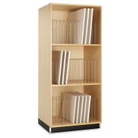 Portfolio and Canvas Storage Cabinet(Canvases not included)