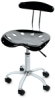 Dezign Line Stool, Desk Height
