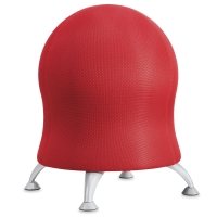 Safco Zenergy Ball Chair, Crimson