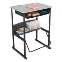 Stand-Up Desk, Standard Top with Book Box(Supplies not included)