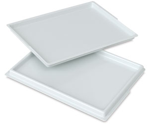 Covered Palette Tray