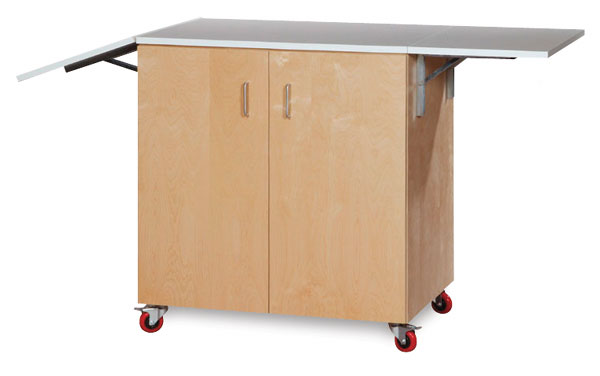 Watercolor Station With Doors, Melamine Top