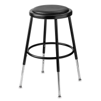 National Public Seating Corp. Adjustable Padded Stool