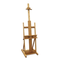 Pacific Arc Brazos Bamboo H-Frame Easel