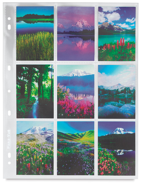 "120 Negative Sleeve <p>(Shown with 2½"" &times 3½"" images)</p>"