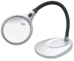 Desktop LED Magnifier