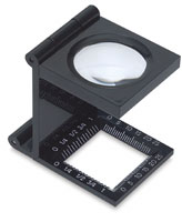 Plastic Folded-up Magnifier