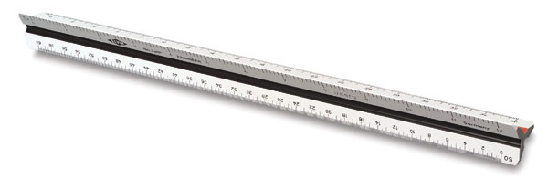 Engineering Scale, White