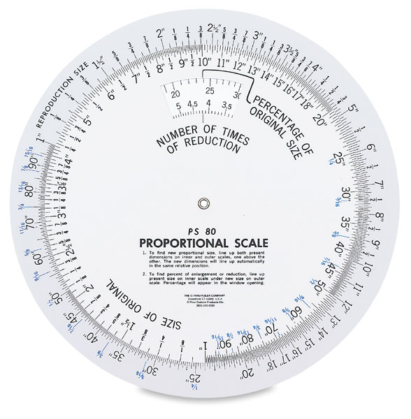 Proportional Scale, 8¼""