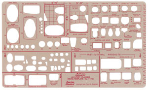 Lavatory Planning Template