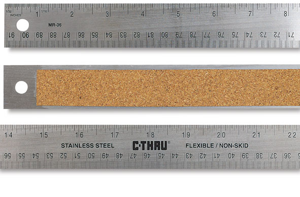 Flexible Stainless Steel Ruler