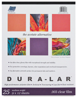 Grafix Dura-Lar Clear Acetate Alternative