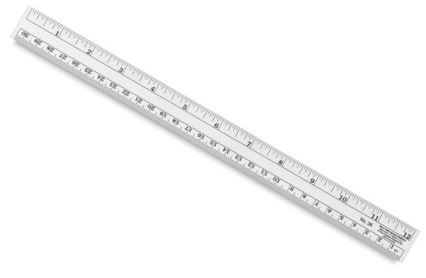 Flexible Inch/Metric Ruler