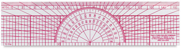 Protractor Ruler, Engineer
