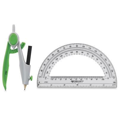 Student Compass and Protractor Set