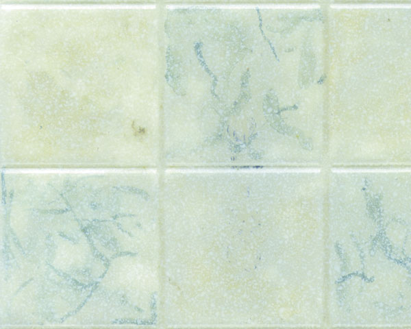 Example of painted Square Tile, 1""