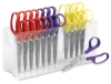 Sharp Scissors, Set of 12 with Rack