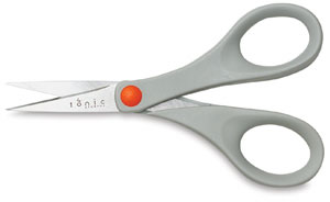"5"" Scissors with Plastic Handles"