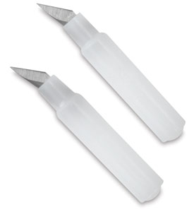 Fingertip Swivel Knife, Replacement Blades, Pkg of 2 NEW!</span