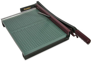 "StakCut Green Board Paper Trimmer, 15"" Cut"