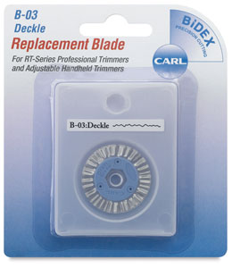 Decorative Replacement Blade, Deckle