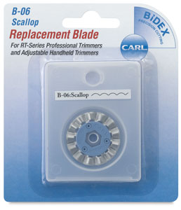 Decorative Replacement Blade, Scallop