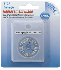 Decorative Replacement Blade, Squiggle