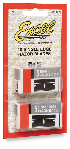 Single-Edge Razor Blades, Pkg of 10