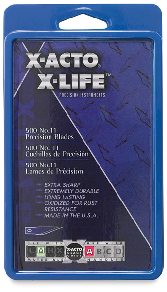 #11, Bulk Pack of 500 Blades, Carbonized Steel